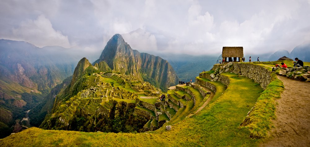 Machu Picchu Panorama: Eight photos (Canon DSLR)