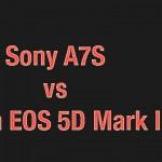 Sony A7S vs Canon 5D III